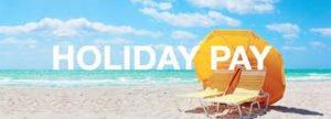 uitbetaalde vakantiedagen